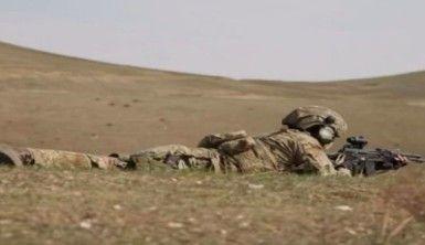Azerbaycan Özel Kuvvetleri'nin tatbikatları devam ediyor