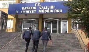 Kayseri'de FETÖ'nün güncel yapılanmasına operasyon