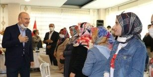 İçişleri Bakanı Soylu, Diyarbakır anneleri ile bir araya geldi