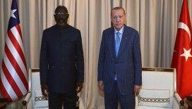 Cumhurbaşkanı Erdoğan, Liberya Devlet Başkanı Weah ile görüştü
