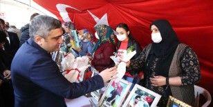 Ergani Kaymakamı Ahmet Karaaslan Diyarbakır annelerini ziyaret etti