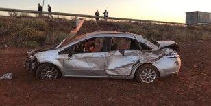 Kırkkkale'de otomobil şarampole devrildi: 2 ölü, 2 yaralı