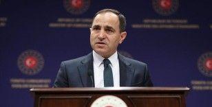 Dışişleri Bakanlığı Sözcüsü Bilgiç: Türkiye devletine ültimatom verilmesi kesinlikle kabul edilemez