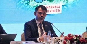 Bakan Kurum: '11 bin metreküp müsilaj topladık'