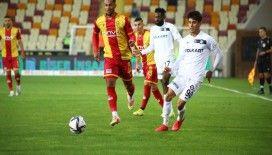 Süper Lig: Yeni Malatyaspor: 2 - Altay: 1 (Maç sonucu)